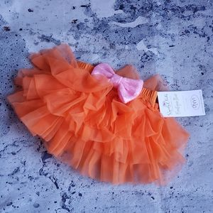 Baby Squishy Cheeks. Infant Tulle Tutu & Bow